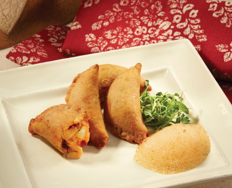 Lobster & Sweet Corn Empanada