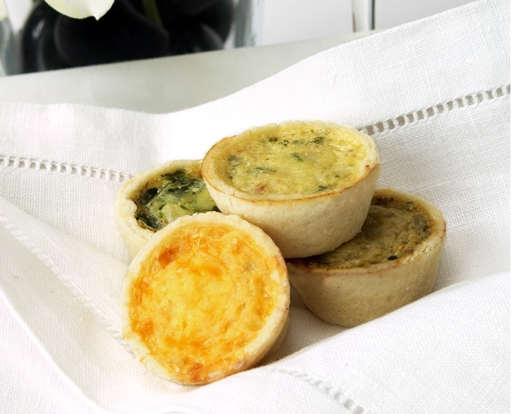 Mini Quiche-Classic French