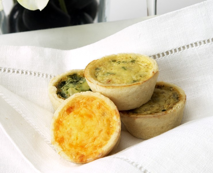 Mini Quiche Assorted