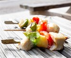 Chicken-Pineapple Kabob