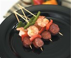 Shrimp & Andouille Kabob