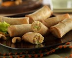 Cashew Chicken Spring Roll