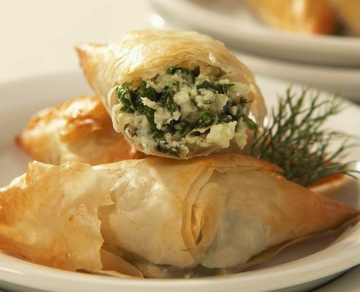 Spanakopita Recipe — Dishmaps