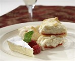 Brie En Croute with Raspberry