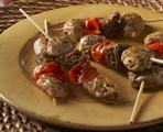 Mediterranean Chicken, Fig & Tomato Kabob