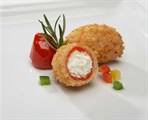 Breaded Parmesan Stuffed Peppadew