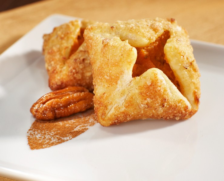 Cinnamon Sweet Potato Puff