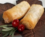 Cranberry and Brie Roll
