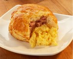 Egg, Ham & Cheese Buttermilk Biscuit