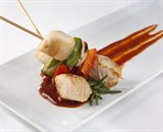 Chicken-Vegetable Kabob