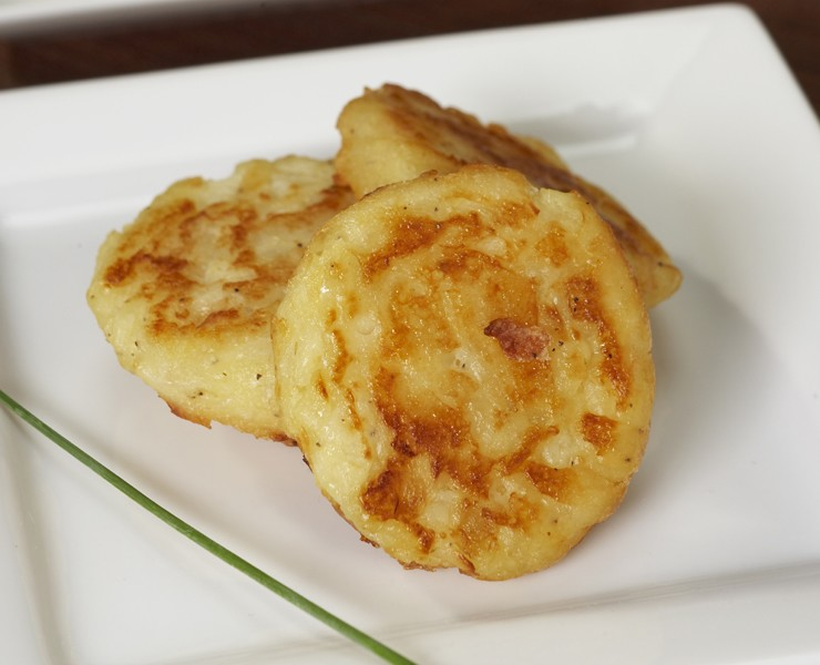 Salt & Pepper Potato Cakes