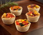 Mini Tuscan Ratatouille Tart