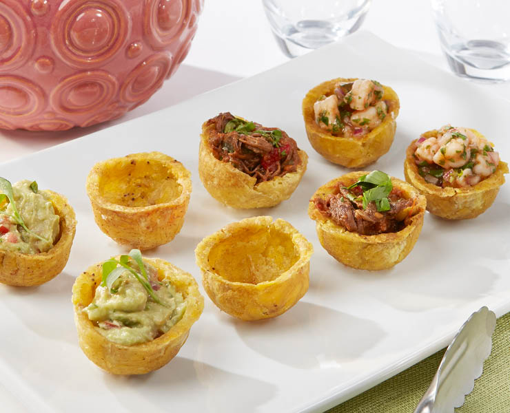 Mini Plantain Tarts - 2""