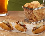 Mini Philly Cheesesteak Sandwich