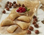 Chocolate & Hazelnut  Raspberry Empanada