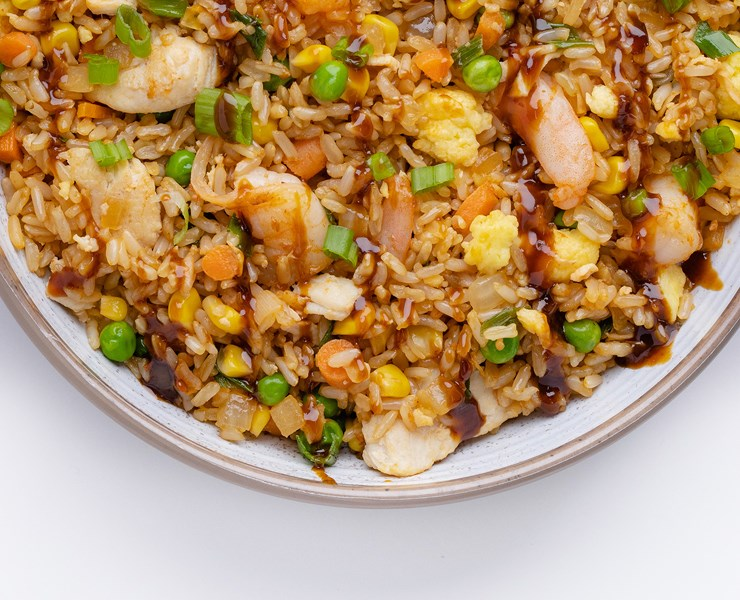 Sambal Fried Rice with Chicken & Shrimp