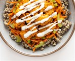 Buffalo Chicken Grain Bowl